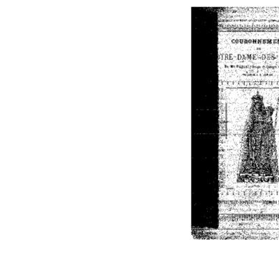 Couronnement de Notre-Dame des Portes