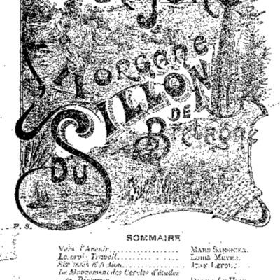 L'Ajonc organe du Sillon de Bretagne 1904