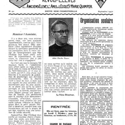 Le Likès revue des anciens élèves et des amis de l'école  Sainte-Marie Quimper 1950-1951.pdf