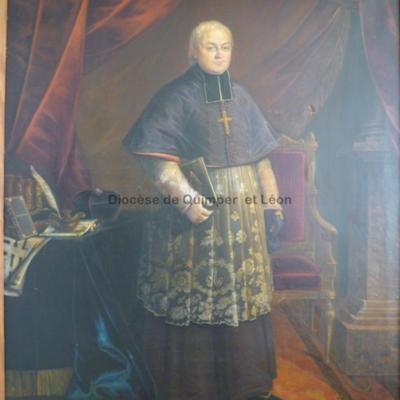 Portrait de Mgr Graveran