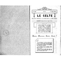 Le Celte : Bulletin Paroissial de Notre-Dame du Mont Carmel 1934