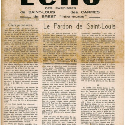 Echo Saint-Louis et Carmes 02 - juillet 1946