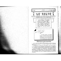 Le Celte : Bulletin Paroissial de Notre-Dame du Mont Carmel 1936