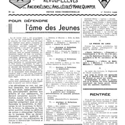 Le Likès revue des anciens élèves et des amis de l'école  Sainte-Marie Quimper 1949-1950.pdf