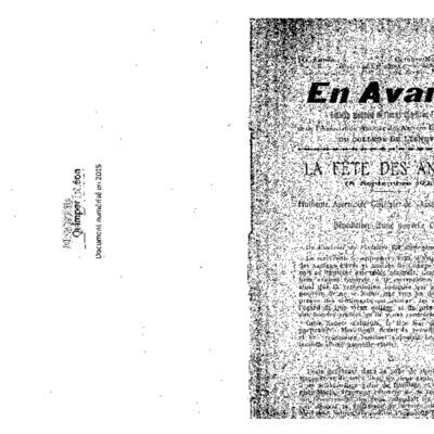 En Avant 1923-1926