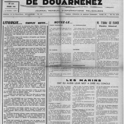 L'Echo de Douarnenez 1966