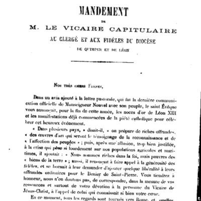 Mandements, Lettres et Circulaires de Mgr Lamarche