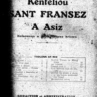 Kenteliou sant Fransez 1931