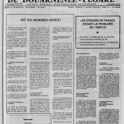 L'Echo de Douarnenez-Ploaré 1979