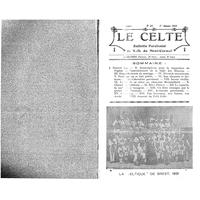 Le Celte : Bulletin Paroissial de Notre-Dame du Mont Carmel 1931
