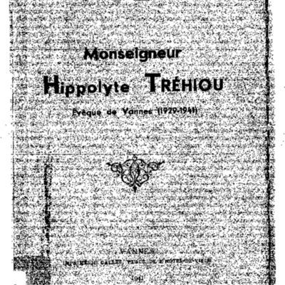 Monseigneur Hippolyte Tréhiou