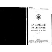 Semaine religieuse de Quimper et Léon 1961