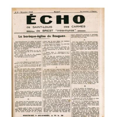 Echo Saint-Louis et Carmes 06 - décembre 1946