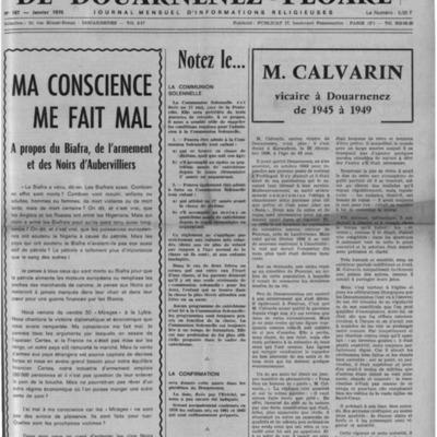L'Echo de Douarnenez-Ploaré 1970