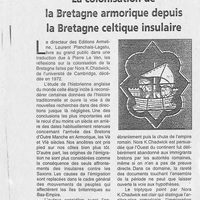 1452 Livre, la colonisation de la Bretagne armorique depuis la Bretagne celtique insulaire... 06.05.2000.