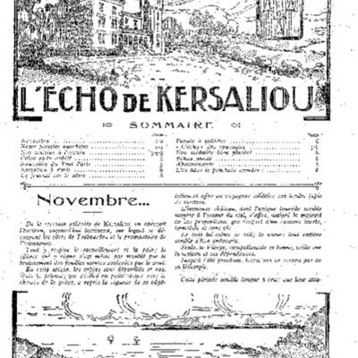 Echo de Kersaliou