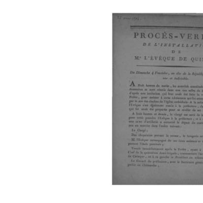 Lettres Pastorales et Mandements de Mgr André