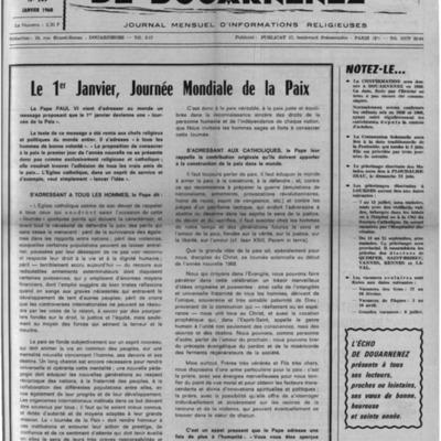 L'Echo de Douarnenez 1968