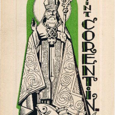 Allocution prononcée par le chanoine C. Le Grand, Official à l'occasion de la solennité de saint Corentin à la cathédrale de Quimper le dimanche 14 décembre 1941