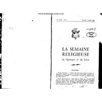 Semaine religieuse de Quimper et Léon 1966