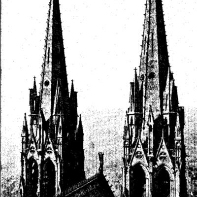 Les églises de France illustrées  : revue mensuelle du monde catholique n°09