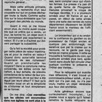 0000 Un reliquaire du XIVè S. sauvé par les Commissaires Priseurs. Orfèvrerie. Kaigre. 7.11.81..jpg