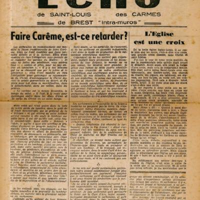 Echo Saint-Louis et Carmes 09 - mars 1947