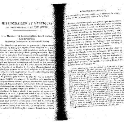Etudes t. 189 oct-dec 1926 p. 415-437, 581-597 Kerbiriou Missionnaires et mystiques en Basse-Bretagne.pdf