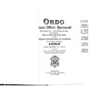 Annuaire diocésain année 1956