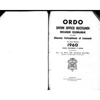 Annuaire diocésain année 1960
