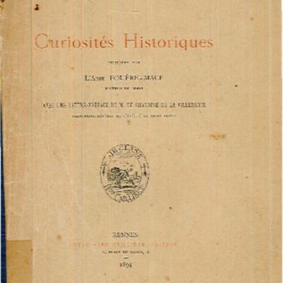 Curiosités historiques : époque révolutionnaire