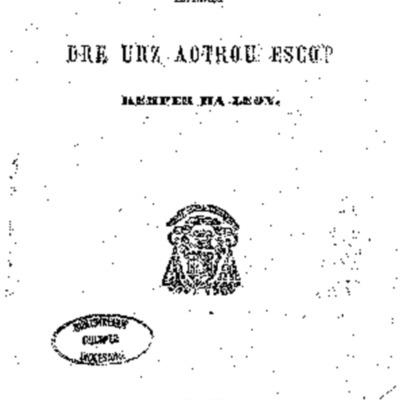 Catekismou Leon : imprimet dre urz aotrou escop Kemper ha Leon