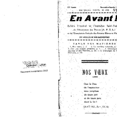 En Avant 1939-1942