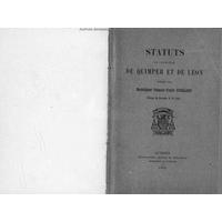 Statuts du diocèse de Quimper et de Léon