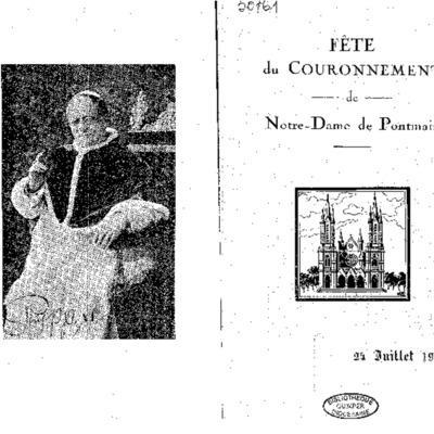 Fête du couronnement de Notre-Dame de Pontmain : 24 juillet 1934