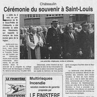 1428 Châteaulin, cérémonie du Souvenir à Saint-Louis... 05.99..jpg