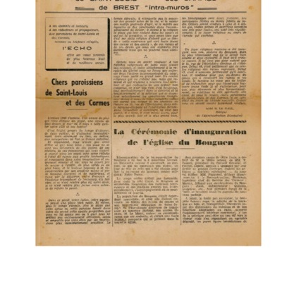 Echo Saint-Louis et Carmes 07 - janvier 1947