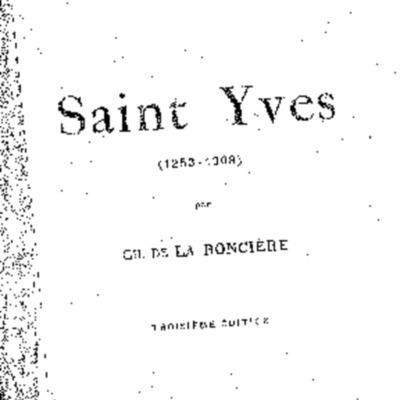 Saint Yves : (1253-1303)