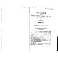 Bulletin diocésain d'histoire et d'archéologie 1937
