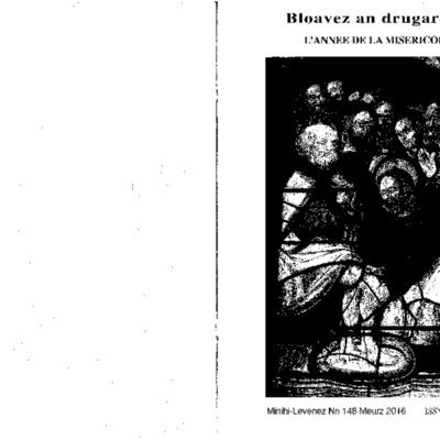 Minihi Levenez 148 : Bloavez an Drugarez L'année de la miséricorde