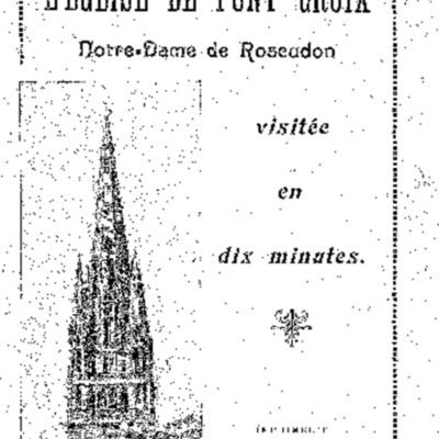 L'église de Pont-Croix Notre-Dame de Roscudon : visitée en dix minutes