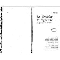 Semaine religieuse de Quimper et Léon 1970