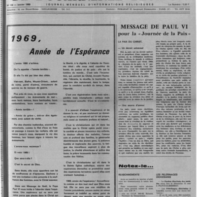 L'Echo de Douarnenez-Ploaré 1969