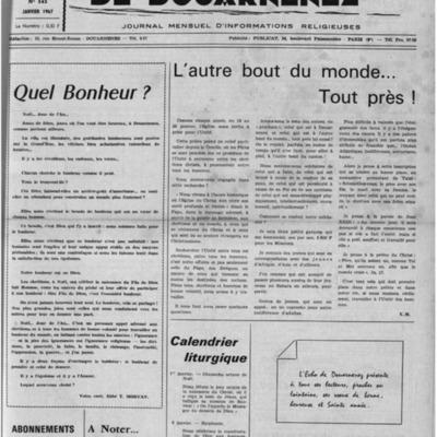 L'Echo de Douarnenez 1967