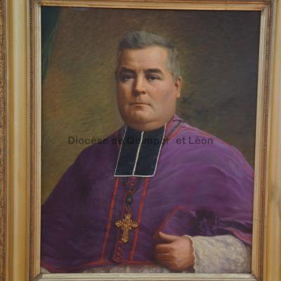 Portrait de Mgr Dubillard