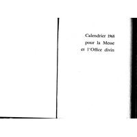 Annuaire diocésain année 1968