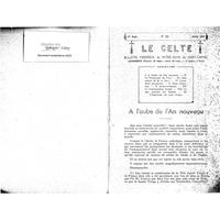 Le Celte : Bulletin Paroissial de Notre-Dame du Mont Carmel 1942