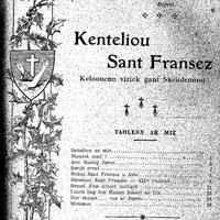 Kenteliou sant Fransez 1928