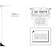 Le Celte : Bulletin Paroissial de Notre-Dame du Mont Carmel 1938