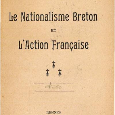 Le nationalisme breton et l'action française